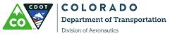 CDOT Div of Aeronautics logo